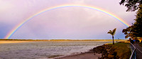 110630 Caloundra Golden Beach Rainbow 4