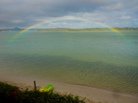 Rainbow over Noosa River