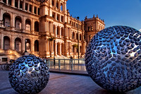 Sphere Sculptures, Brisbane Square